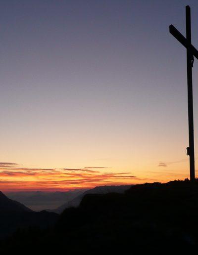 Gipfelfoto Großer Kienberg